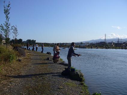 釣り人たち。