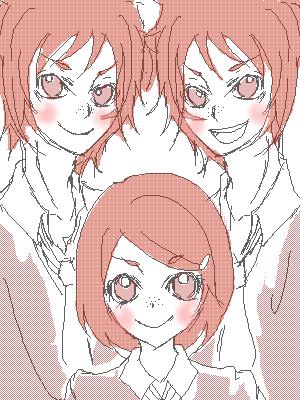 赤毛の双子
