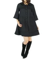 ドレスコート ブラック