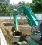 掘削開始1