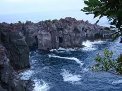 城ヶ崎の絶壁
