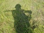 行軍中の影