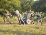 ドイツ軍対戦車砲隊の移動
