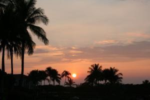 ハワイ島のsunset