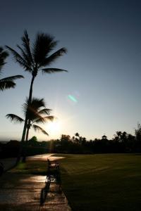ハワイ島での朝日