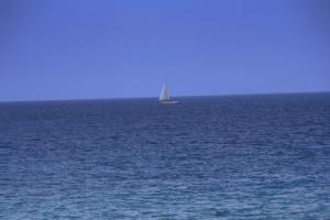 海に浮かぶ
