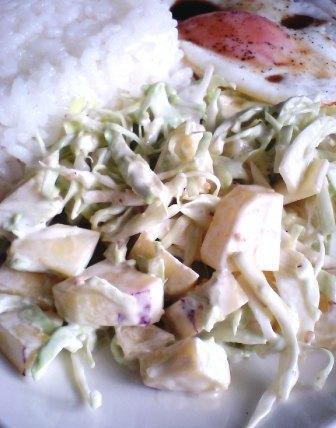 さつまいもとキャベツのサラダ