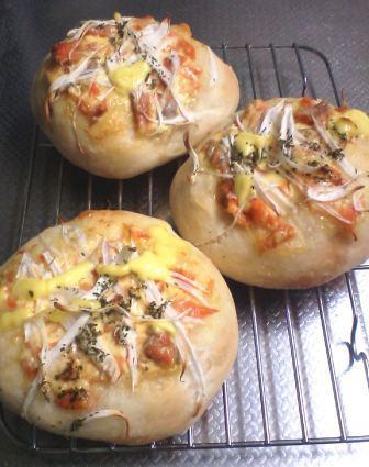 鮭&玉ねぎパン