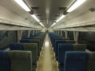 寂しい電車内