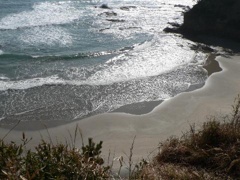 小名浜の海岸