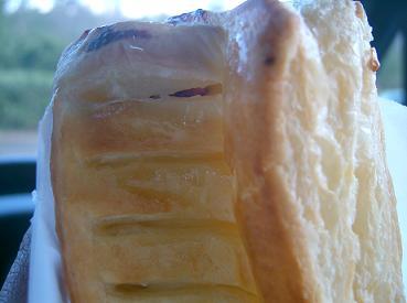 クリームチーズとブルーベリーのパイ@?