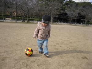 サッカーボールすっき