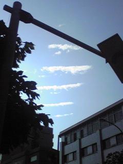 今朝の空2