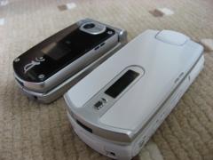 新旧携帯♪