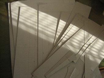 トランク-型紙