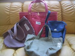 お気に入りの鞄たち