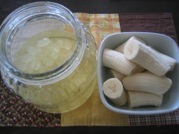 バナナサワーを作る その1