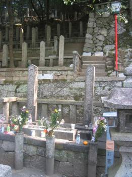 竜馬さんと中岡氏のお墓