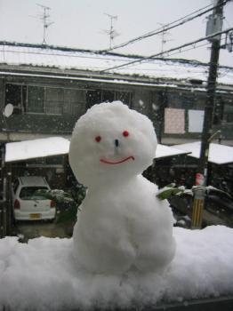 ゆきだるま2008