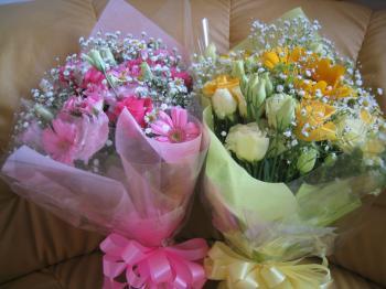 お花、ありがとう