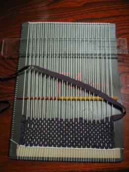 ECO織り 織り機