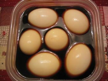 味付け卵 その1
