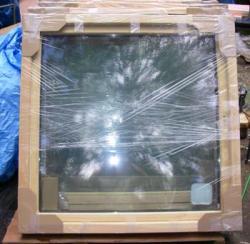 木製サッシュ・トリプルガラス・高性能窓・結露の無い窓