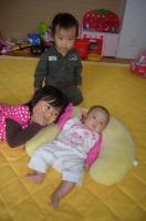 三人育児ママ