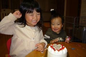 つーくん2歳の誕生日