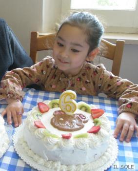 6歳のお誕生日