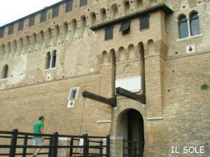 お城の入り口