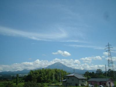 9.12 さわやかな青空の大山