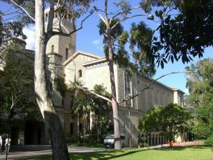 ウエスタンオーストラリア大学構内1