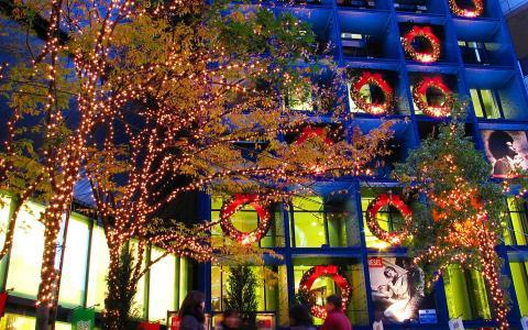 大丸神戸店のクリスマスイルミネーション
