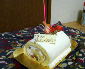 080522斗真ケーキ