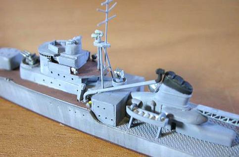格段に拡充された艦橋設備