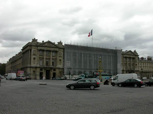 パリ、コンコルド広場