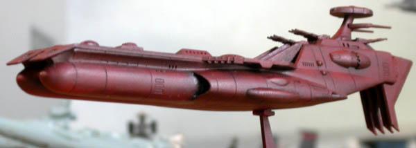 デスラー戦闘空母完成でつ
