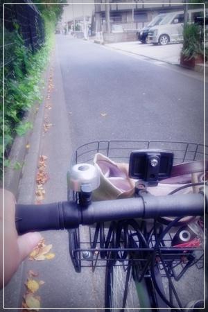 自転車にのって
