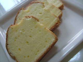 バターケーキ カルピスバター