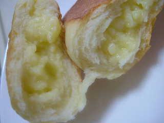 クリームパン中身