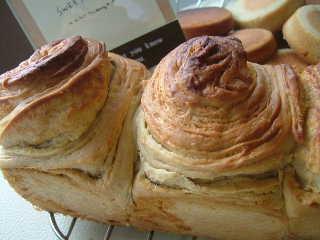 紅茶とメープルのパン