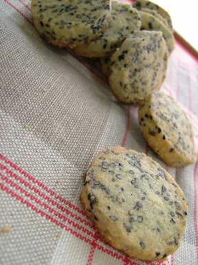 黒胡麻クッキー
