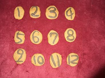 クッキーde番号札