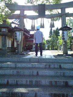 新熊野神社鳥居