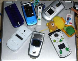 携帯電話s