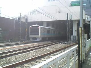 町田駅踏切