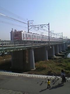 東横線鶴見川の橋
