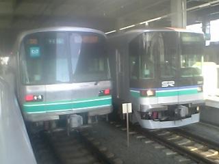 武蔵小杉にて南北線&埼玉高速