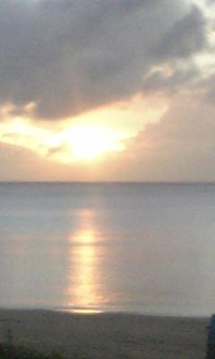 夕陽がしぃずぅむぅ~